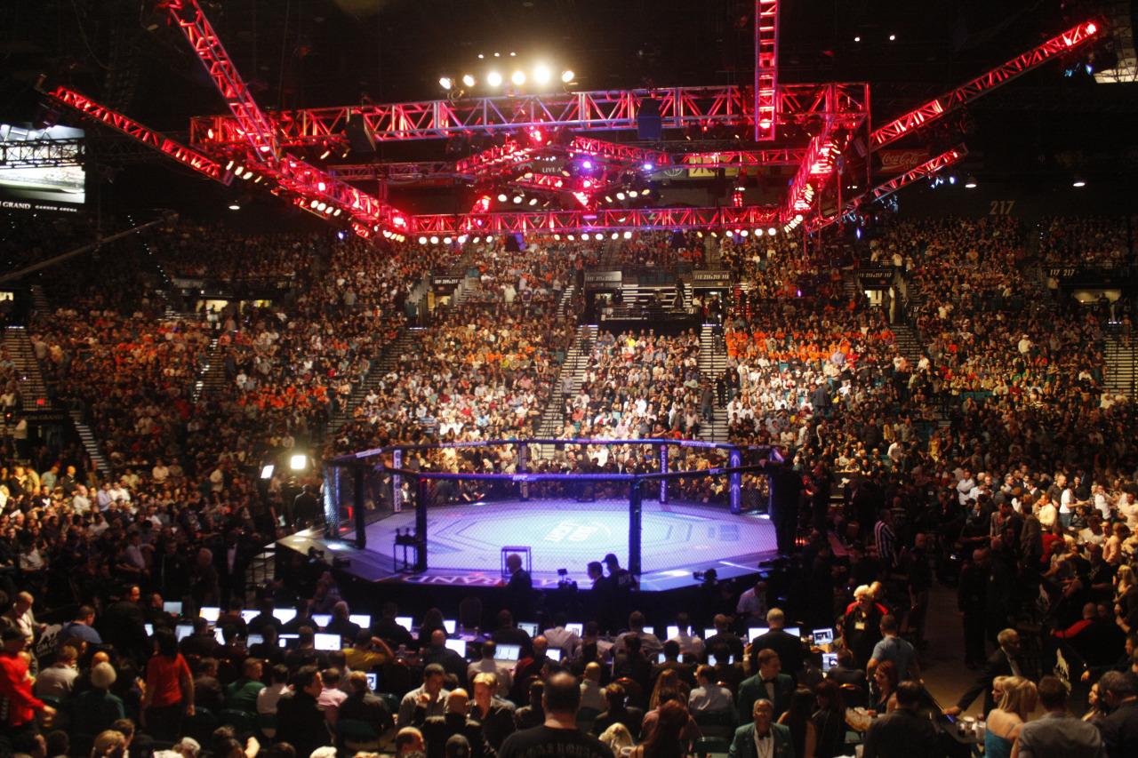 UFC 187 NA ARENA MGM