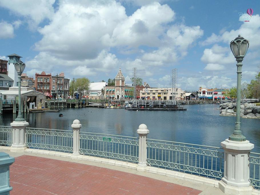 Vista do universal studios
