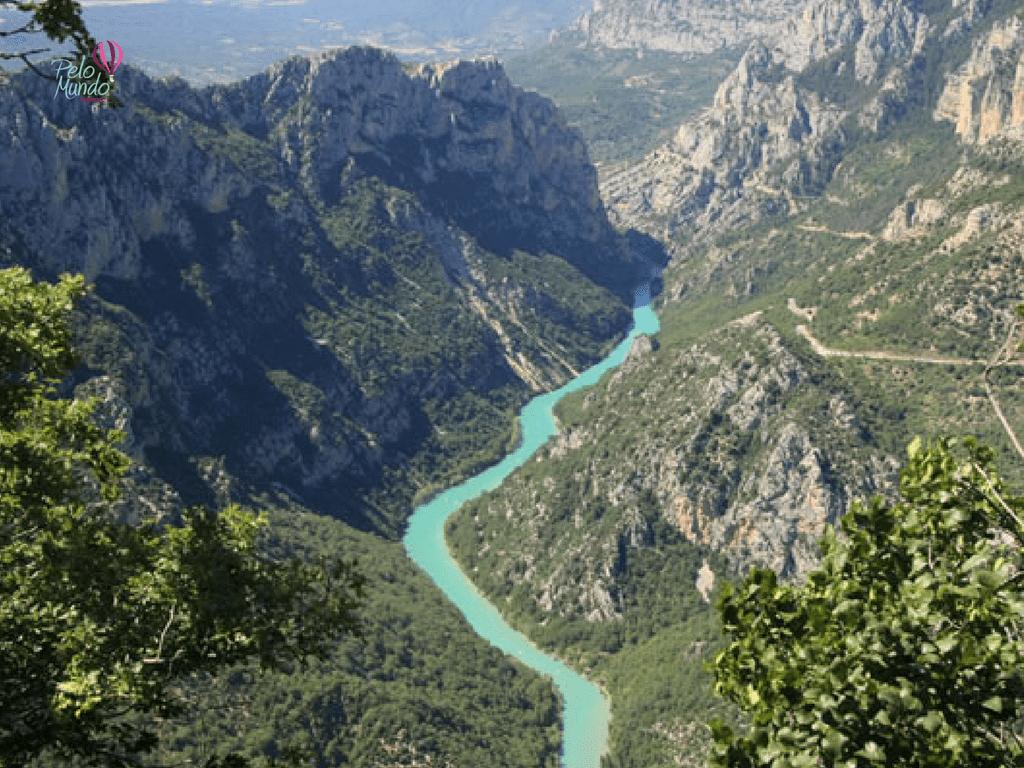 Desfiladeiro Gorges du Verdon