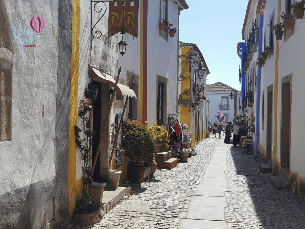 Rua Direita em Óbidos
