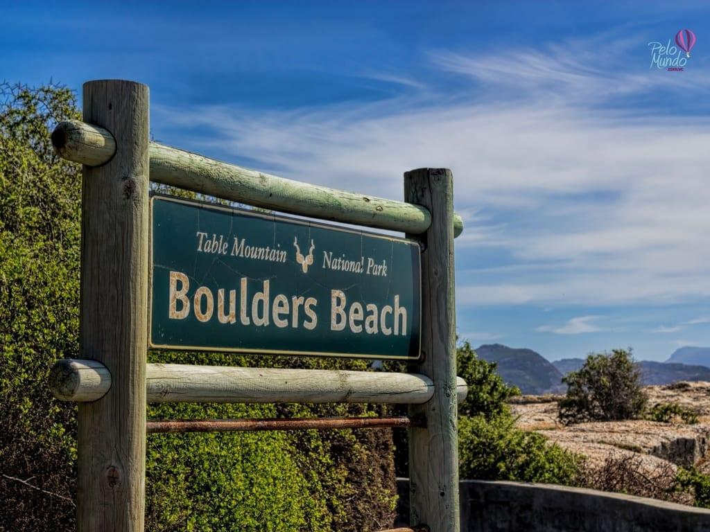 Praia dos Pinguins Boulders Beach