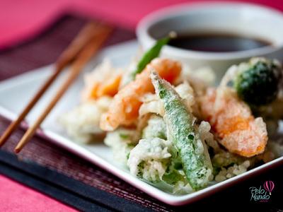 Gastronomia Japonesa - tempurá