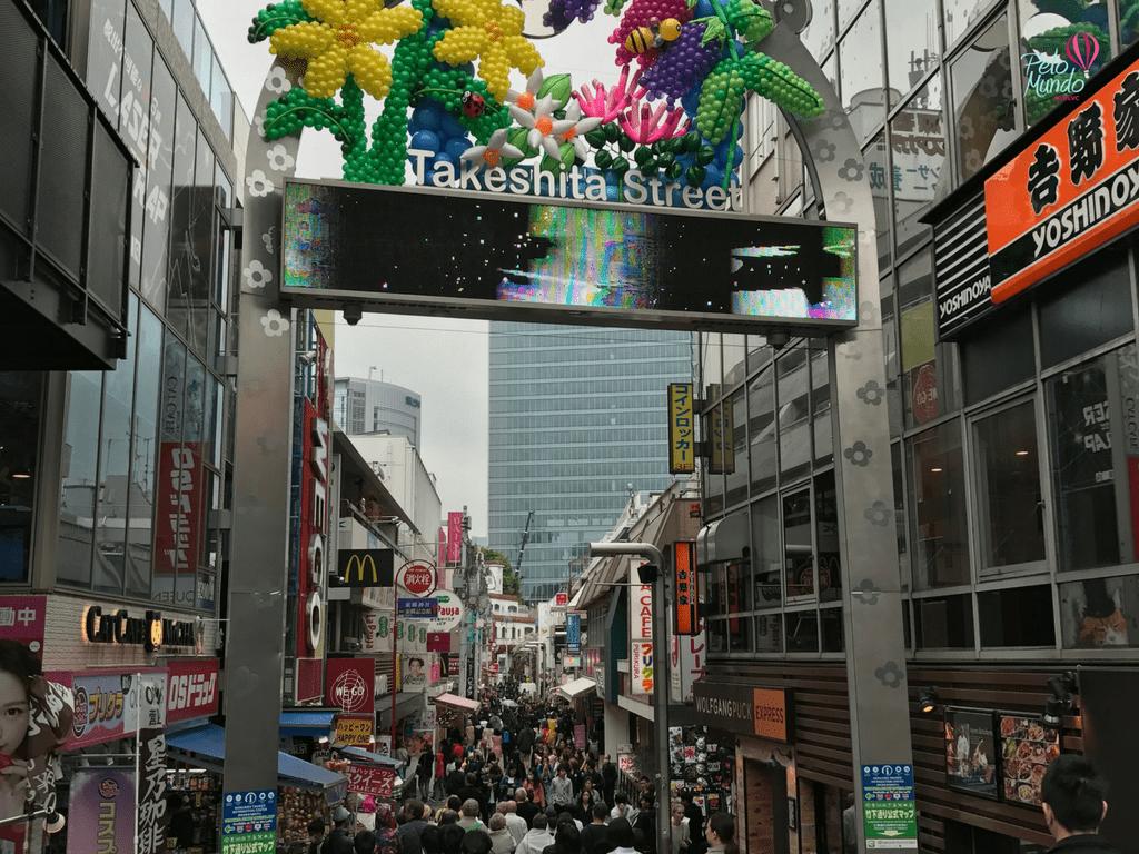 Templo Tóquio Takeshita Street