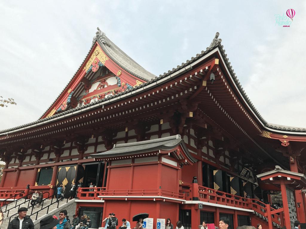 Templo Senso-Ji em Tóquio
