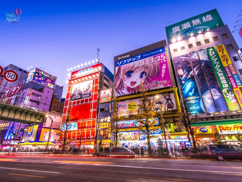 Tóquio para Nerds - Bairro Akihabara
