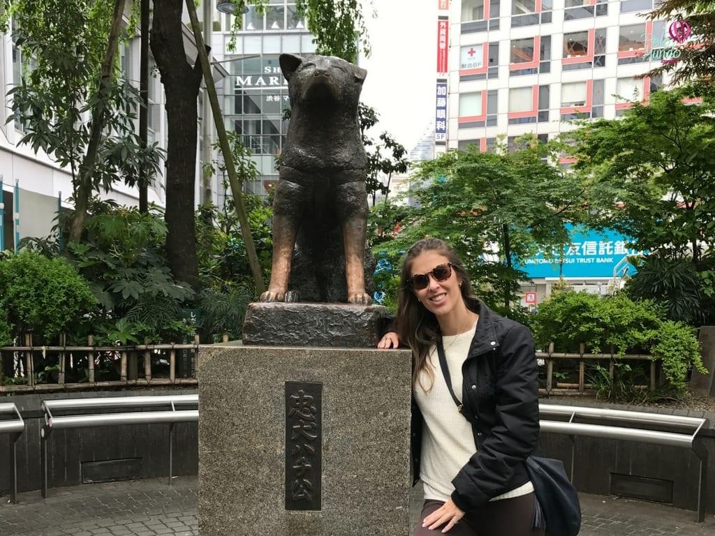 Estátua Hachiko Shibuya Tóquio