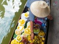 Floating Market - Mercados flutuantes
