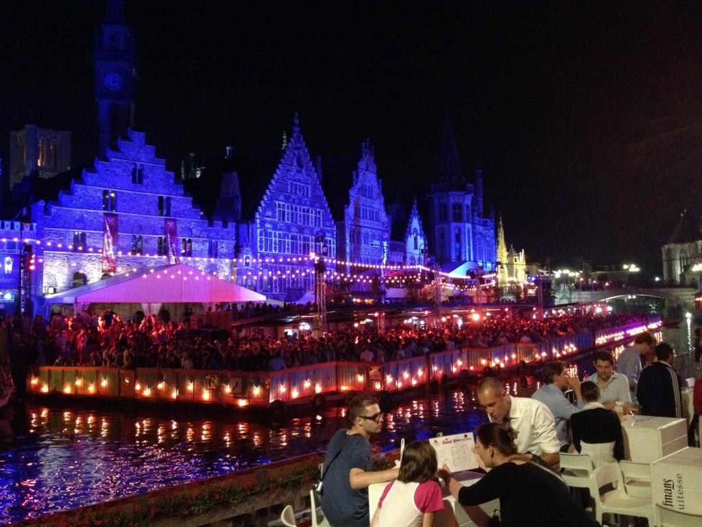 Festival Ghent show a noite