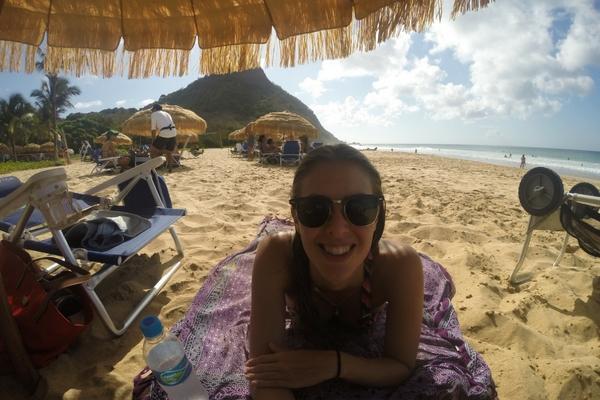 Praia da Conceição em Noronha