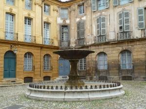 Fontanário em Aix en provence