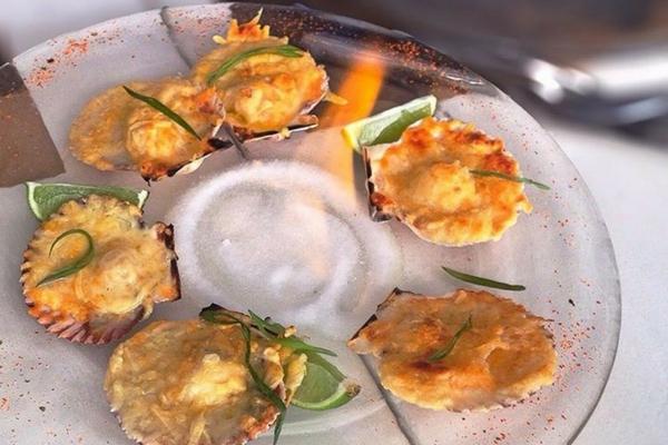 Vieiras Restaurantes em Punta - Sipan