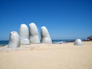 Mãos em Punta del Este