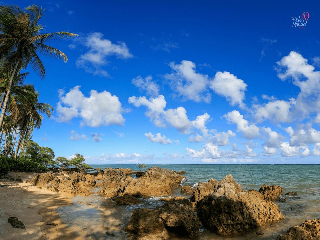 Praia de Morere na ilha de Boipeba