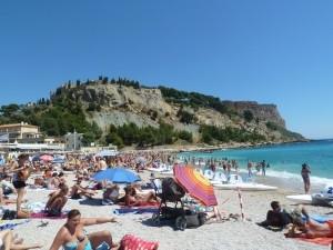 praia em Cassis