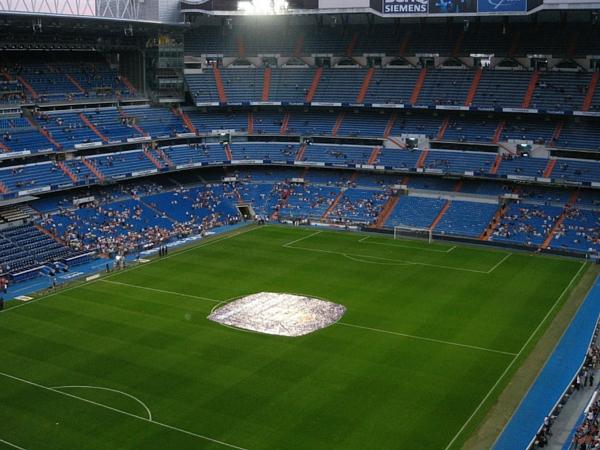 Estádio de futebol em Madri