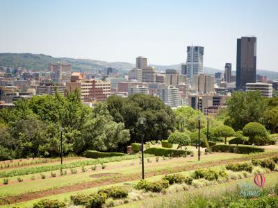 Imagem da cidade de Johannesburg na Africa do Sul