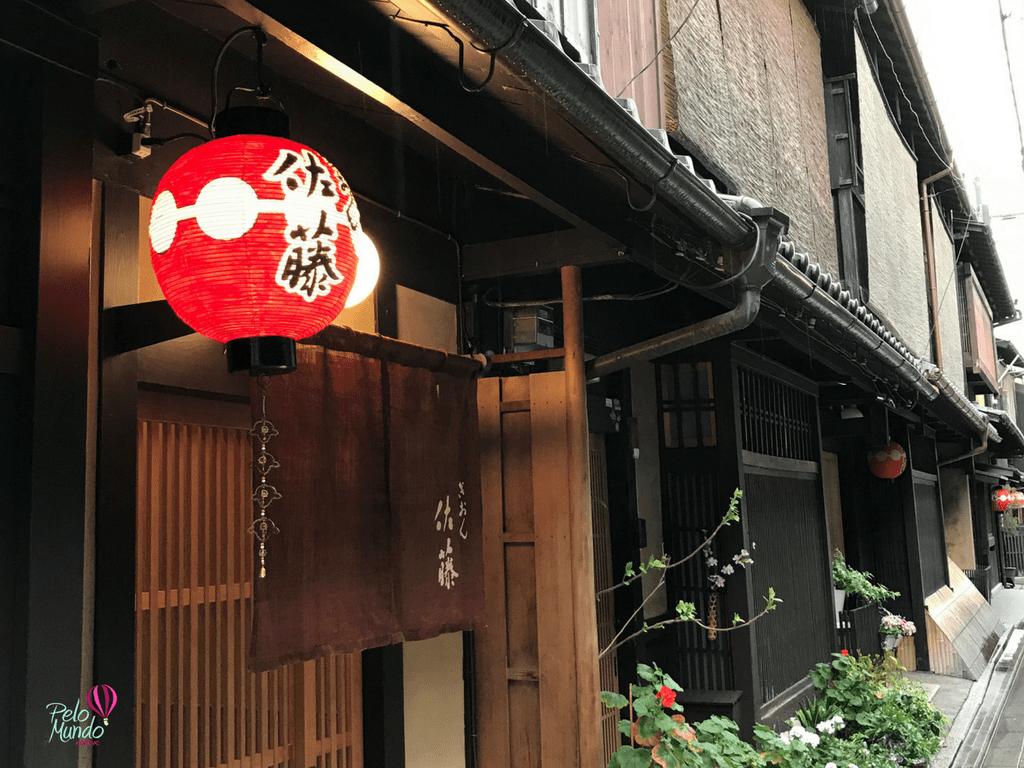 Bairro Gion Kyoto no Japão