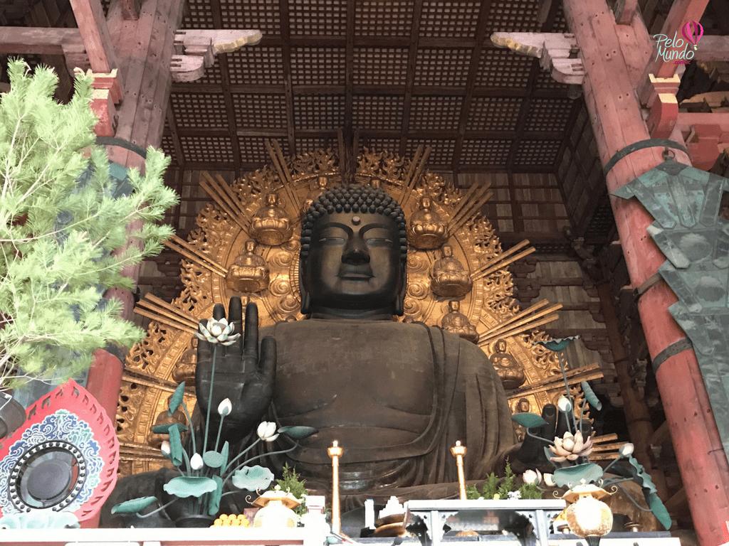 Templo em Nara no Japão