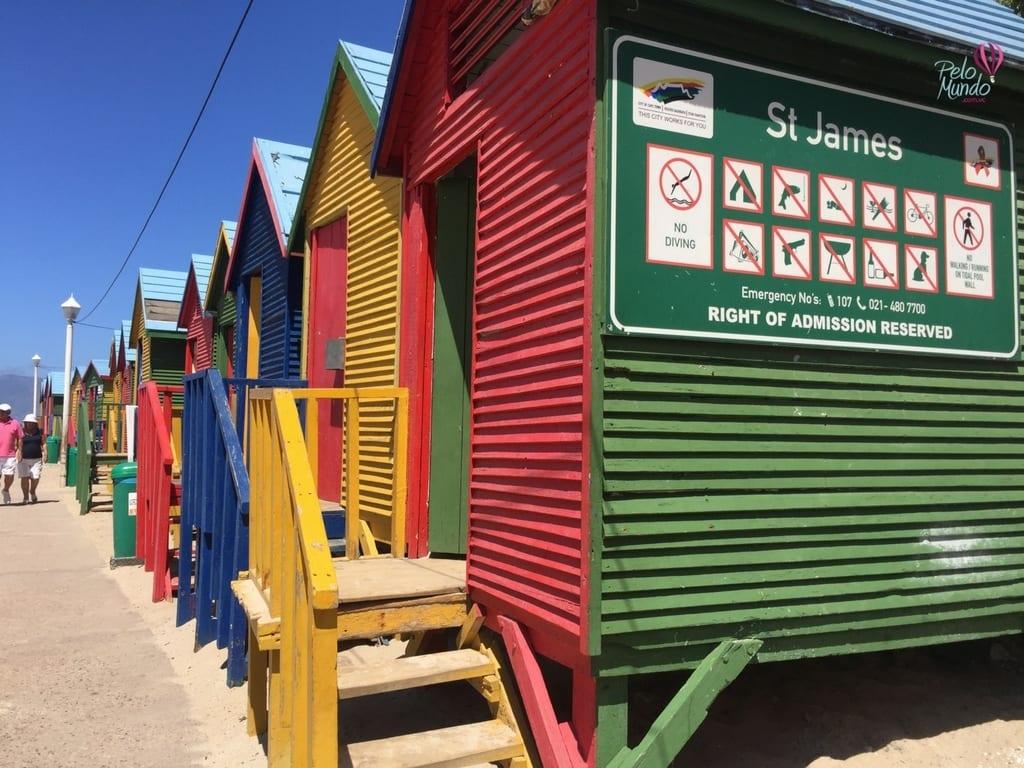 muizemberg e suas casinhas coloridas