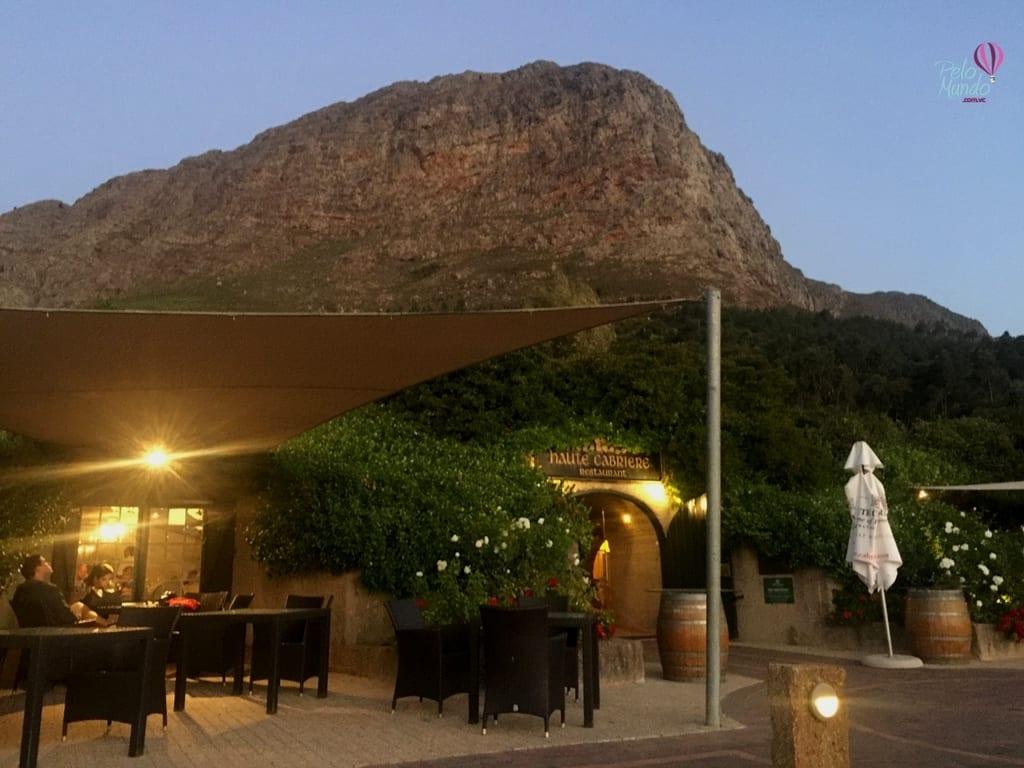 FRANSCHHOEK Melhor gastronomia da Africa do Sul