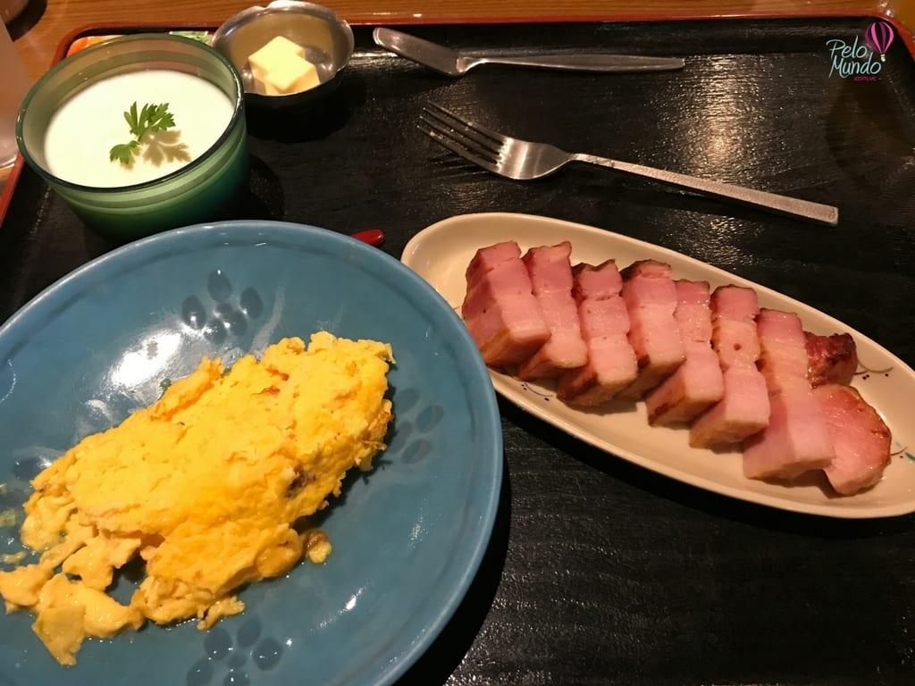 Café da manhã ocidental Kyoto Garden
