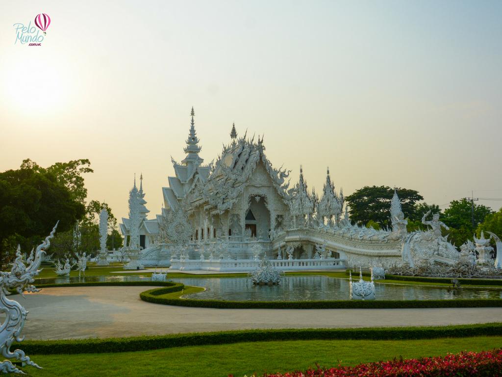 CHIANG RAI - Wat Rong Khun - WHITE TEMPLE