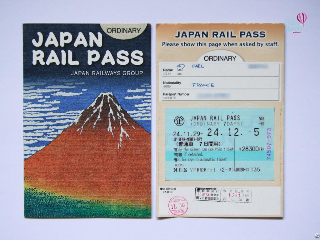 JR PASS - TRANSPORTE PÚBLICO NO JAPÃO