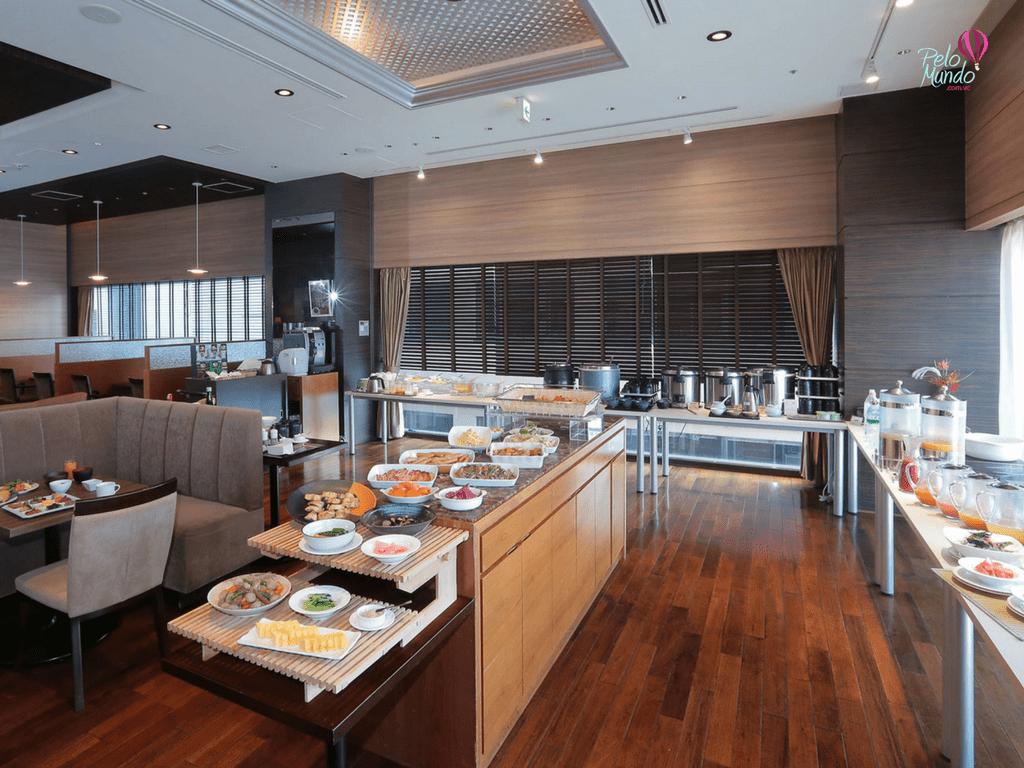 Café da manhã Gracery Hotel