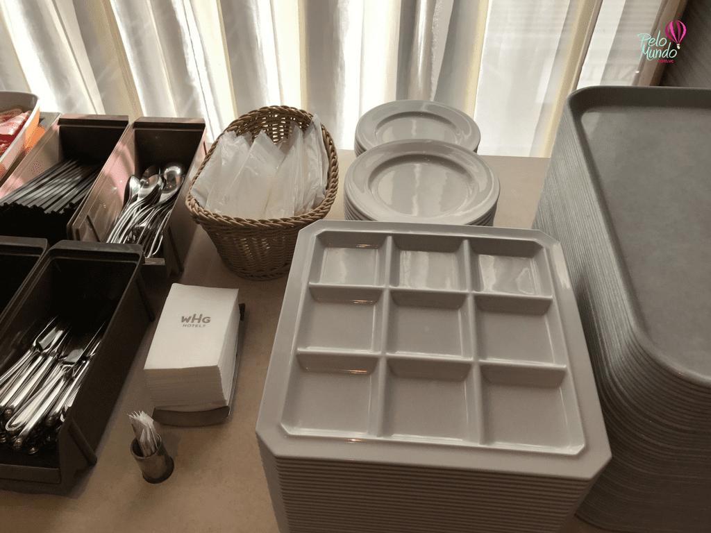Café da manhã Gracery Ginza