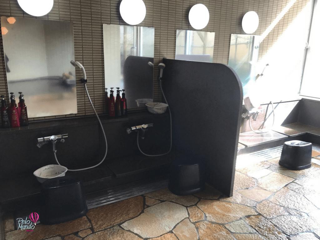 Laforet banho coletivo