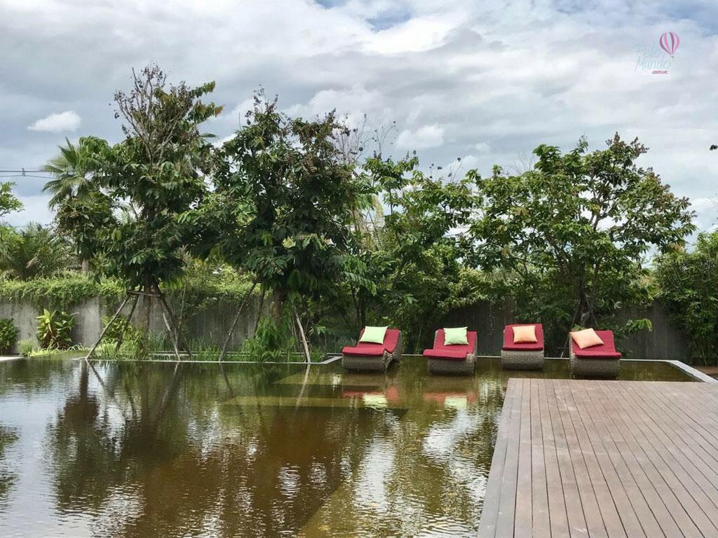 North Hill Resort em Chiang Mai - piscina