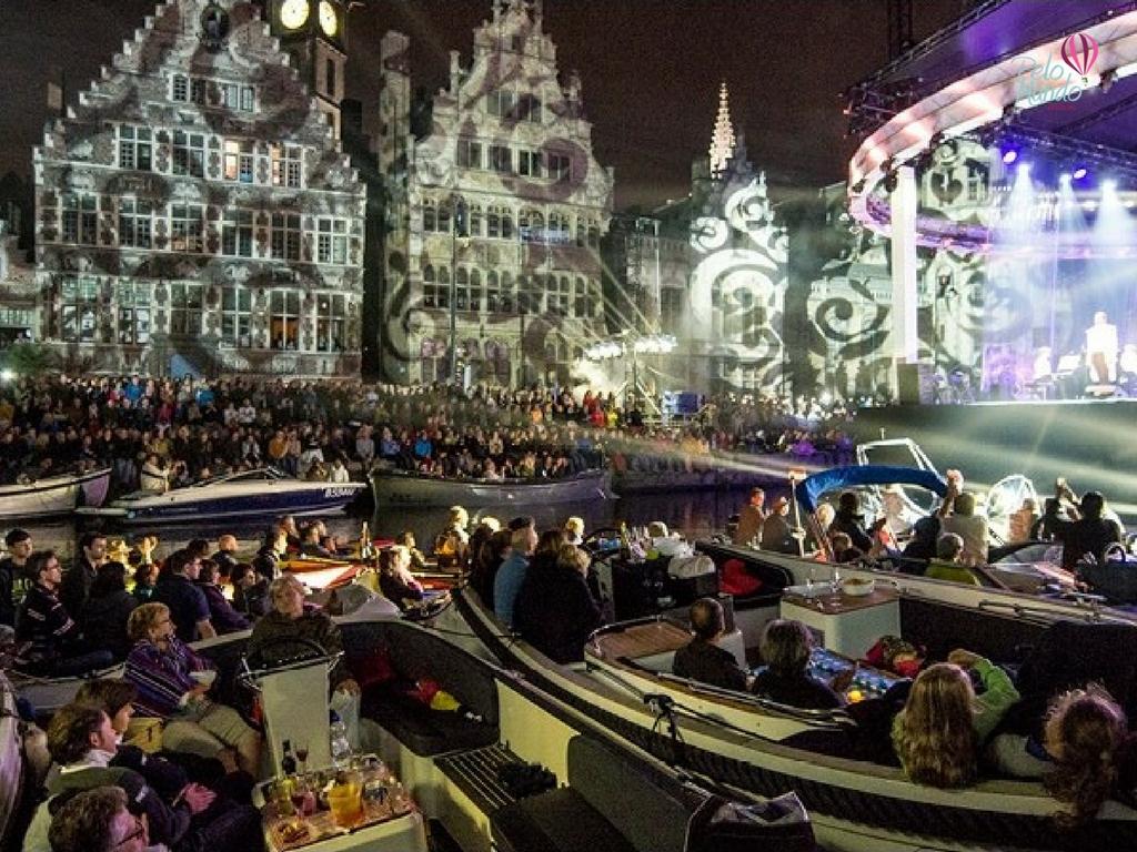 Festival em Gante