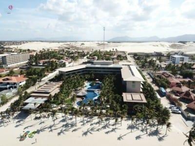 Hotel de luxo no Ceará