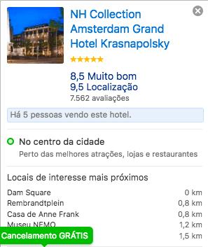 HOSPEDAGEM EM AMSTERDAM